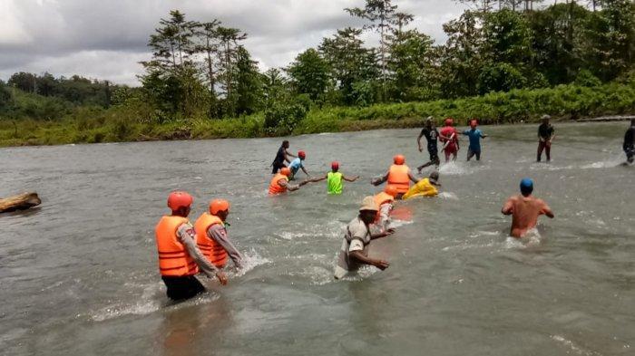 Pria Paruh Baya di Maluku Tengah Terseret Arus Sungai, Hingga Kini Belum Ditemukan