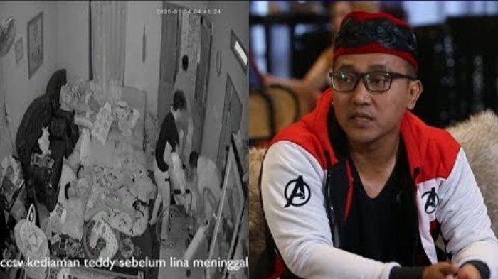Detik-detik Lina Ambruk Terekam Kamera CCTV Rumah, Teddy: Saya Langsung Bawa Tabung Oksigen
