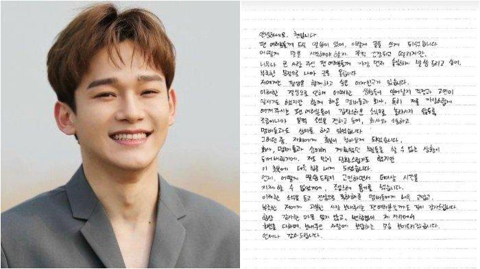Selamat Chen EXO Resmi Jadi Ayah, sang Istri Lahirkan Bayi Perempuan