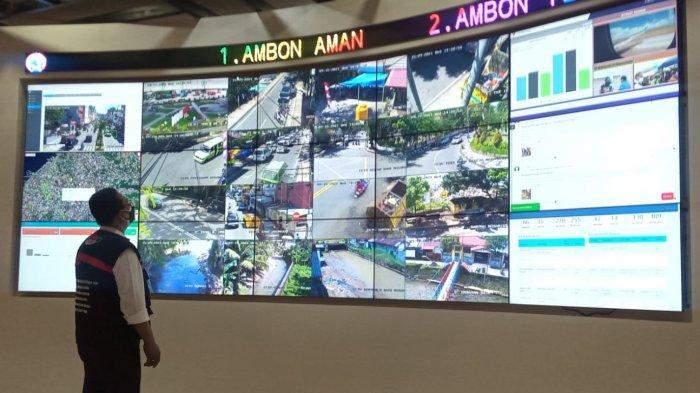 32 Titik CCTV Aktif, Tidak Hanya Warga, Sungai Hingga Tempat Sampah di Ambon Juga Terpantau
