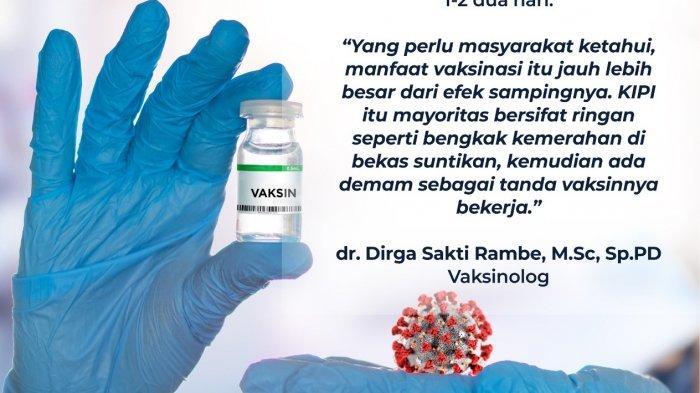 Mengenal Anafilaktik, Reaksi Alergi Berat Usai Vaksinasi