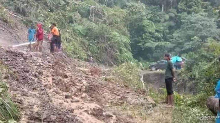 Janji Perbaiki Jalan Tak Ditepati, Warga Danau Rana Kabupaten Buru Ancam Golput Saat Pileg
