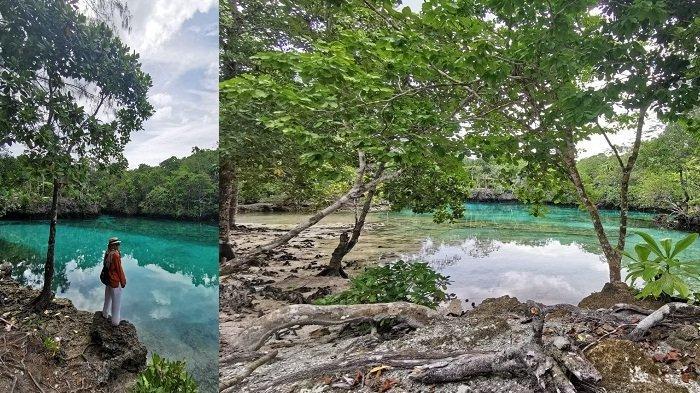 Wisata Seram Bagian Timur: Danau Sole yang Asin dan Hening Tersembunyi di Hutan Pulau Manawoku