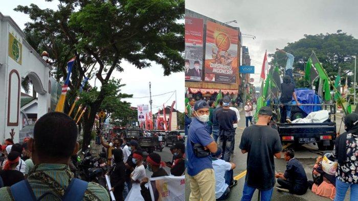 Dalam Sehari, 2 Demonstrasi Beda Tuntutan Terjadi di Kota Ambon