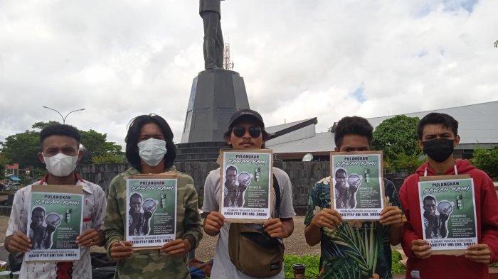 Aliansi Rakyat Menggugat Desak Polisi Bebaskan Aktivis HMI Ambon, Risman Soulissa
