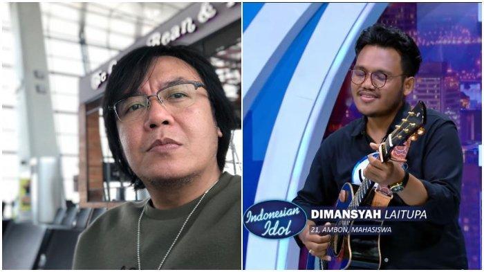 Ketahuan Bawa Contekan, Dimansyah Peserta Indonesian Idol Asal Ambon Buat Ari Lasso Kesal, Tak Lolos