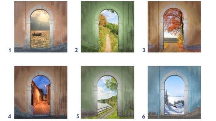 Tes Kepribadian: Pilih Satu Pintu! Pilihanmu Ungkapkan Karaktermu yang Tersembunyi