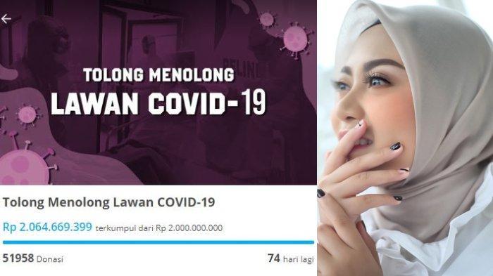 Rachel Vennya Galang Dana untuk Corona Selama 74 Hari, Baru 1 Hari Sudah Terkumpul Rp 2 Miliar
