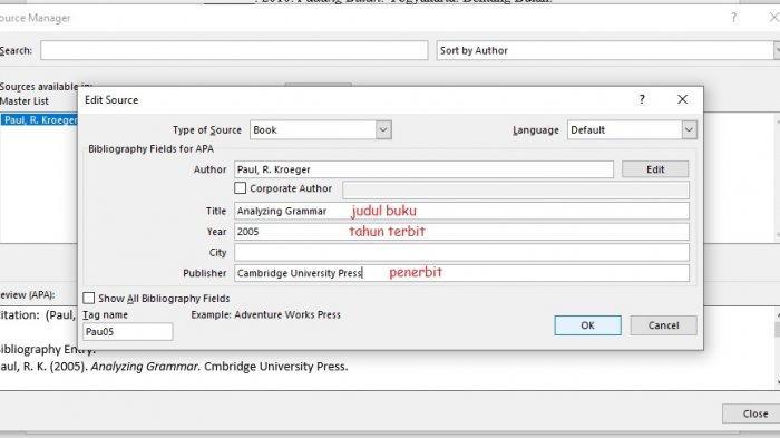 Cara Membuat Daftar Pustaka di Microsoft Word, Bisa Dilakukan Secara Otomatis Maupun Manual
