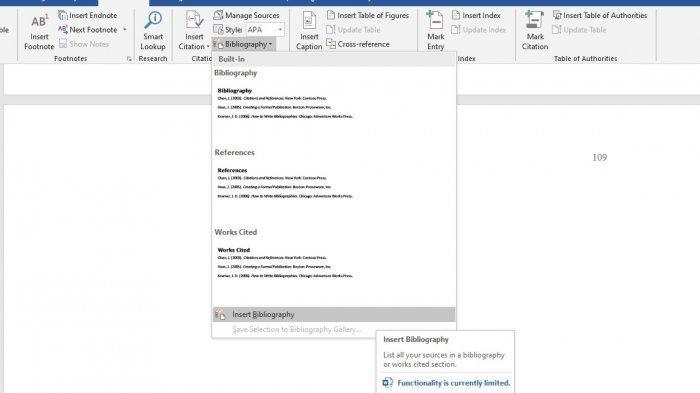 Cara Membuat Daftar Pustaka Sumber dari Internet di Microsoft Word, Ini Susunan yang Tepat