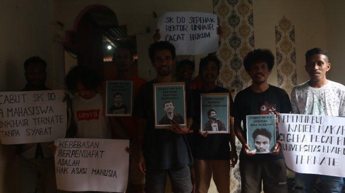 4 Mahasiswa Unkhair Ternate di-DO, Universitas Sebut Mereka Telah Makar, hingga Kini Minta Keadilan