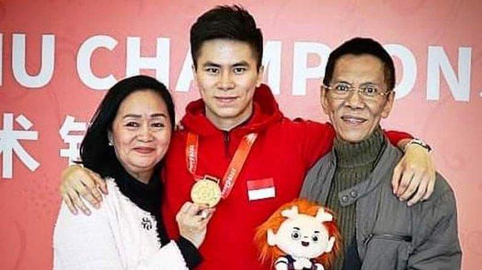 Di Tengah Duka Meninggalnya Sang Ayah, Edgar Berhasil Raih Medali Emas Cabor Wushu di SEA Games 2019