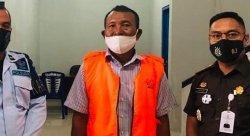 Korupsi Dana  BOS, Mantan Kepsek SMK N 3 Banda Neira Divonis 7 Tahun Penjara
