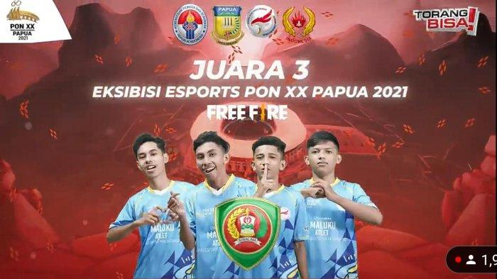 Maluku Raih Medali Perunggu di Ekshibisi Esports PON XX Papua