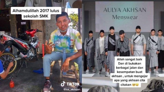 Kisah Pemuda Lulusan SMK Otomotif, Kini Sukses Jadi Fashion Designer meski Sempat Ditentang Keluarga