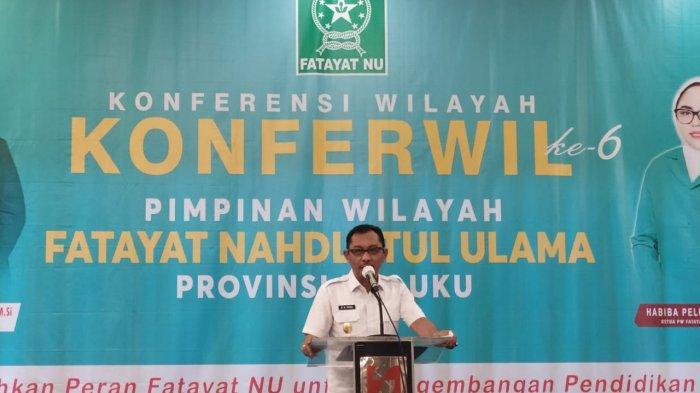 Barnabas Orno Sebut Fatayat NU Jadi Wadah Pemersatu Kaum Perempuan Maluku