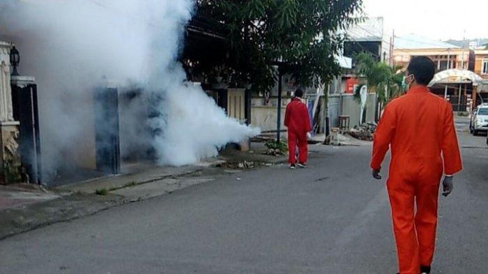 Antisipasi DBD dan Malaria, Dinkes Ambon Lakukan Fogging