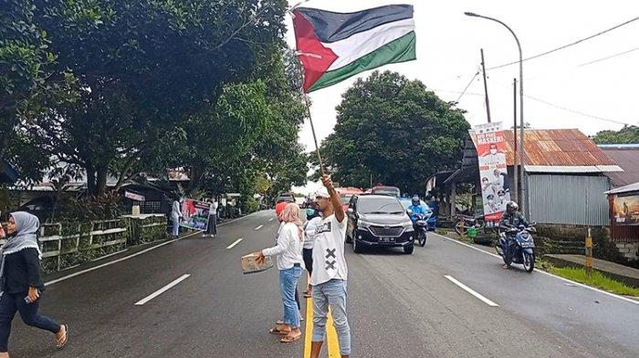 Remaja Masjid di Batu Koneng Galang Dana untuk Palestina
