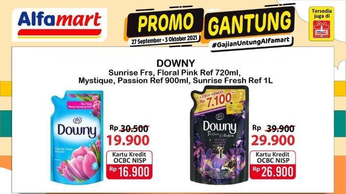Promo Gantung Alfamart Berlaku hingga 3 Oktober 2021: Downy Sunrise Floral 720ml hanya Rp 19.900