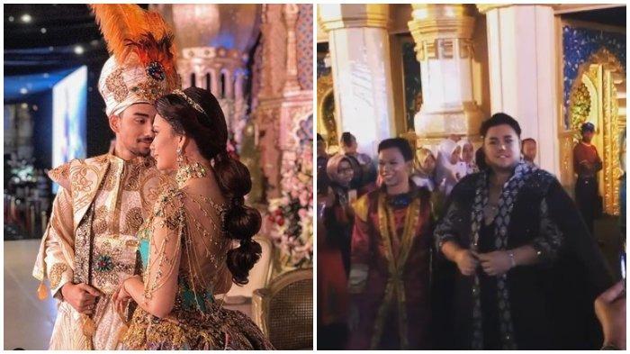 Viral Pernikahan Mewah Bak Putri Jasmine, Gaun Mempelai Wanita Rancangan Ivan Gunawan