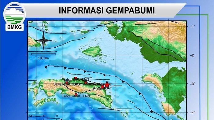 2 Gempa Guncang Maluku Hari Ini Sabtu 3 Agustus 2019, Pusat Gempa Kedalaman 10 Km