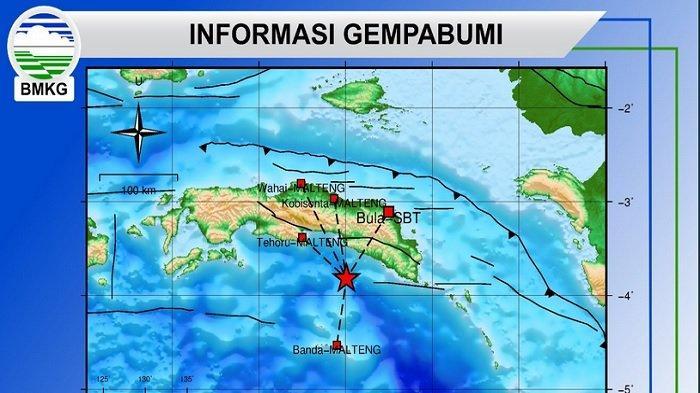 Gempa Susulan Terus Terjadi di Tehoru-Maluku Tengah, Hud Silawane: Warga Beraktivitas Seperti Biasa