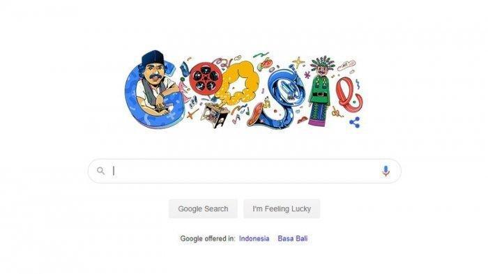 Kenang Benyamin Sueb, Google Doodle Tampilkan Gambar sang Legendaris Betawi