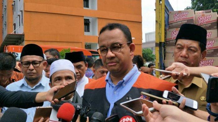 Jakarta Kembali Banjir, Anies Baswedan: Tunggu Permukaan Air Laut Surut