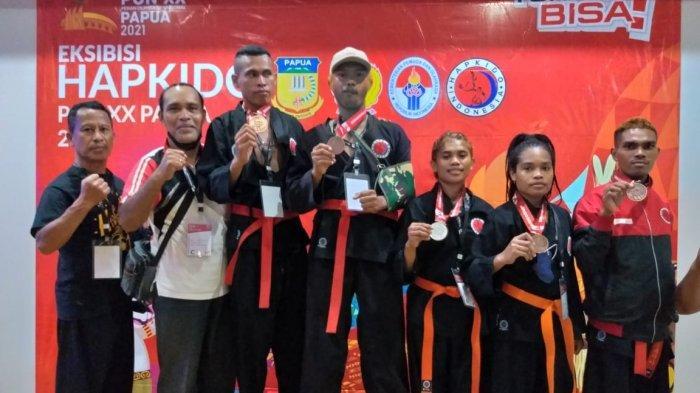 Eksibisi Hapkido PON XX Papua: Atlet Maluku Raih 1 Perak dan 4 Perunggu