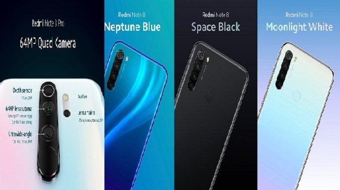 Harga HP Xiaomi Desember 2019, Redmi Note 8 Mulai Rp 1,9 Jutaan