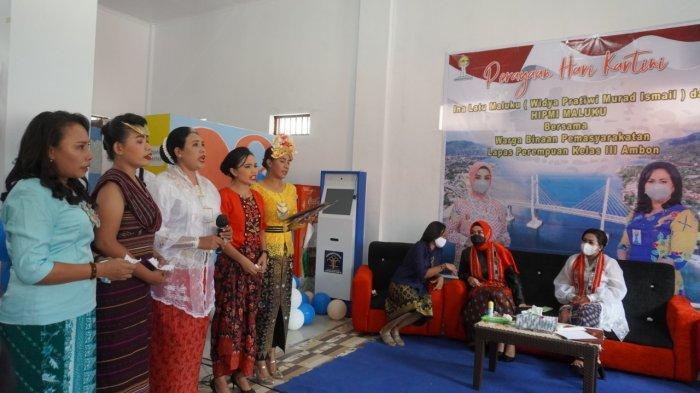 Perayaan Hari Kartini di Lapas Perempuan Kelas III Ambon, Rabu (21/4/2021)