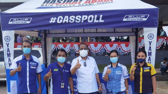 Meriahkan Pekan Selebrasi Vaksin Covid-19, PT. Hasjrat Abadi Ambon Beri DoorPirze Sepeda Motor