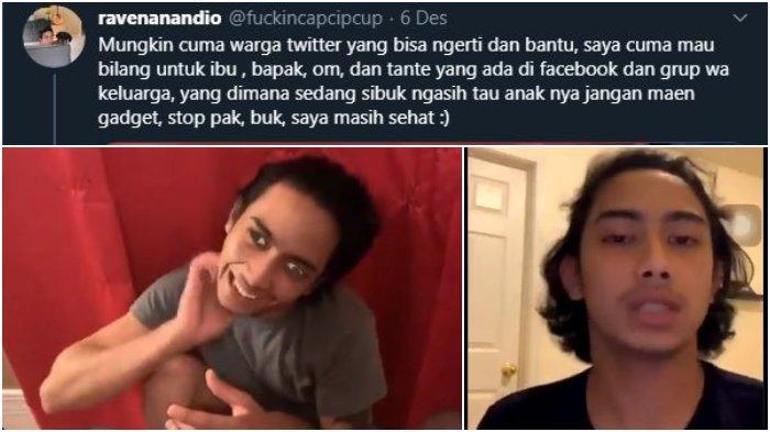 Hoaks Pria Gangguan Jiwa Akibat Kecanduan Game Online, Ternyata Mata Juling Hanya Filter Instagram