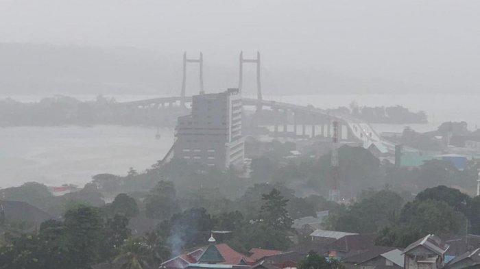 Prakiraan Cuaca Per 30Maret 2021, Cuaca Kota Ambon Diprediksi Hujan Ringan Saat Malam Hari