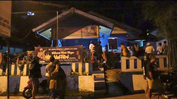 Tekan Kriminalitas & Balap Liar, Aparat Satlantas Polresta Ambon Berburu di Malam Hari