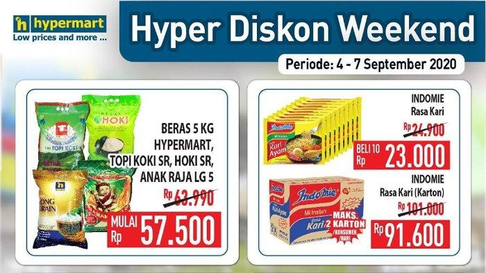 Promo JSM Hypermart Periode 4-7 September 2020, Banyak Diskon di Akhir Pekan