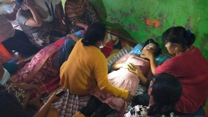 Ibu dan anak yang tewas karena tersetrum listrik saat menjemur