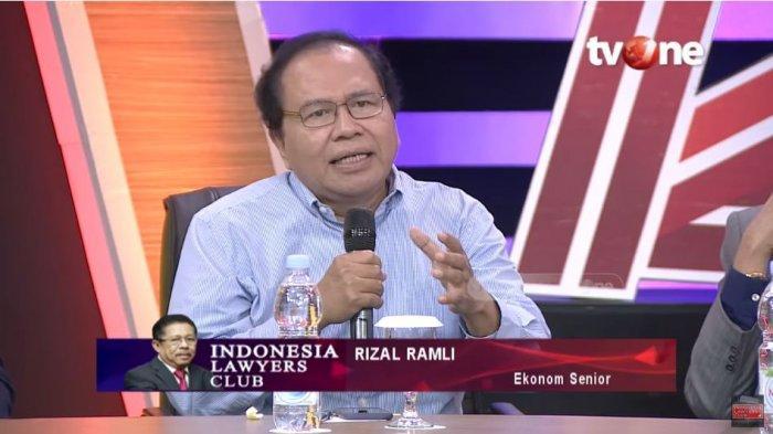 Rizal Ramli Kritisi Pejabat Posisi Strategis di Pemerintahan, Bandingkan dengan Komunis China