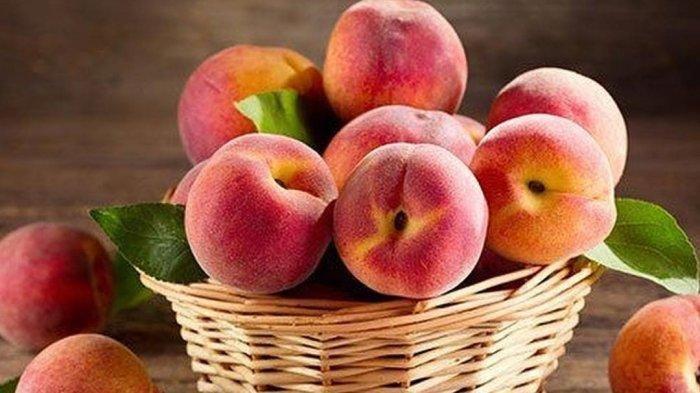 Ilustrasi buah persik
