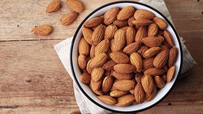 Ilustrasi kacang almont