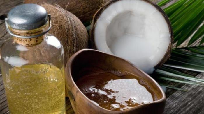 Ilustrasi minyak kelapa