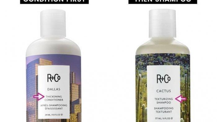 Ilustrasi shampo