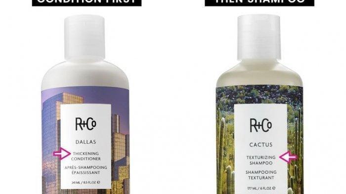 Ilustrasi shampoo
