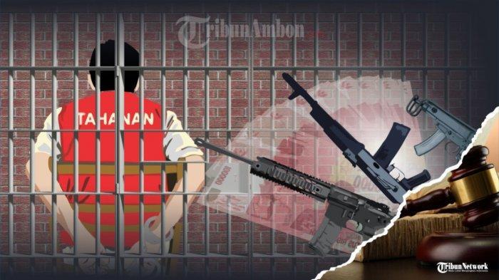 Warga Sipil Penjual Senpi Ke KKB Papua Dihukum Bervariasi, Hukuman Tertinggi 12 Tahun Penjara