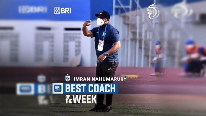 Imbang Persija, Imran Nahumarury Jadi Pelatih Terbaik di Liga 1