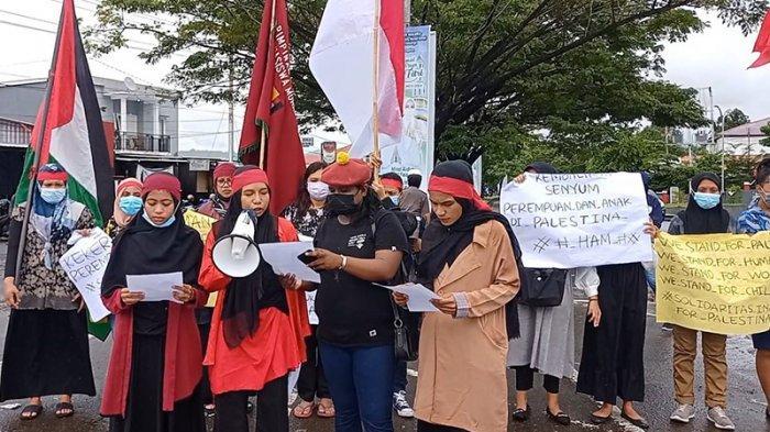 Ina For Maluku Bersolidaritas untuk Palestina, Ini Tuntutan Mereka