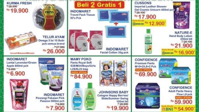 Katalog Promo JSM Indomaret 23-25 April 2021, Kurma Fresh Rp 19.900, Tisu Indomaret Beli 2 Gratis 1