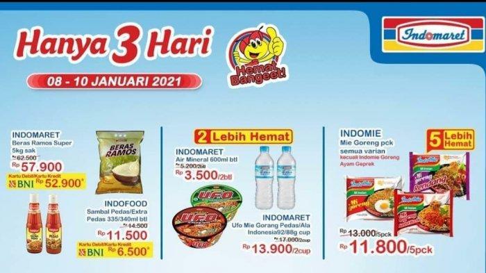 Hari Trakhir Promo JSM Indomaret Periode 8-10 Januari 2021, Nikmati Diskon di Akhir Pekan