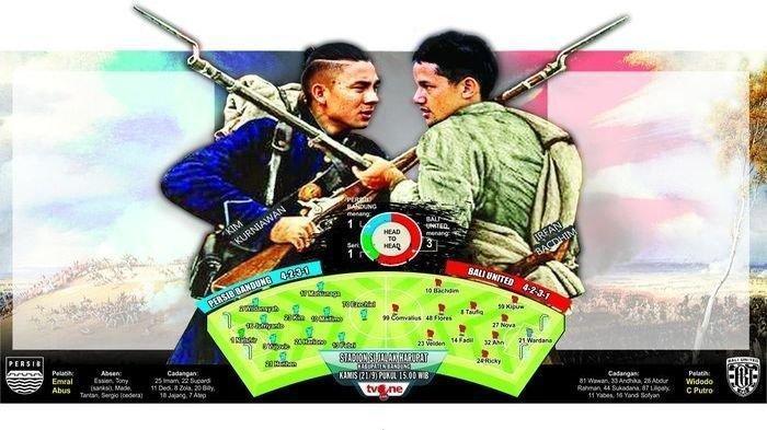 Adik dan Kakak Ipar Bakal Duel, Simak Prediksi Persib vs Bali United di Liga 1 2019 Jumat Sore Ini