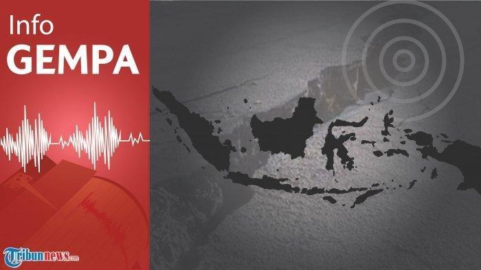 Gempa Terkini - BMKG Catat Gempa Magnitudo 5,3 Guncang Pesisir Barat Lampung, Tak Berpotensi Tsunami